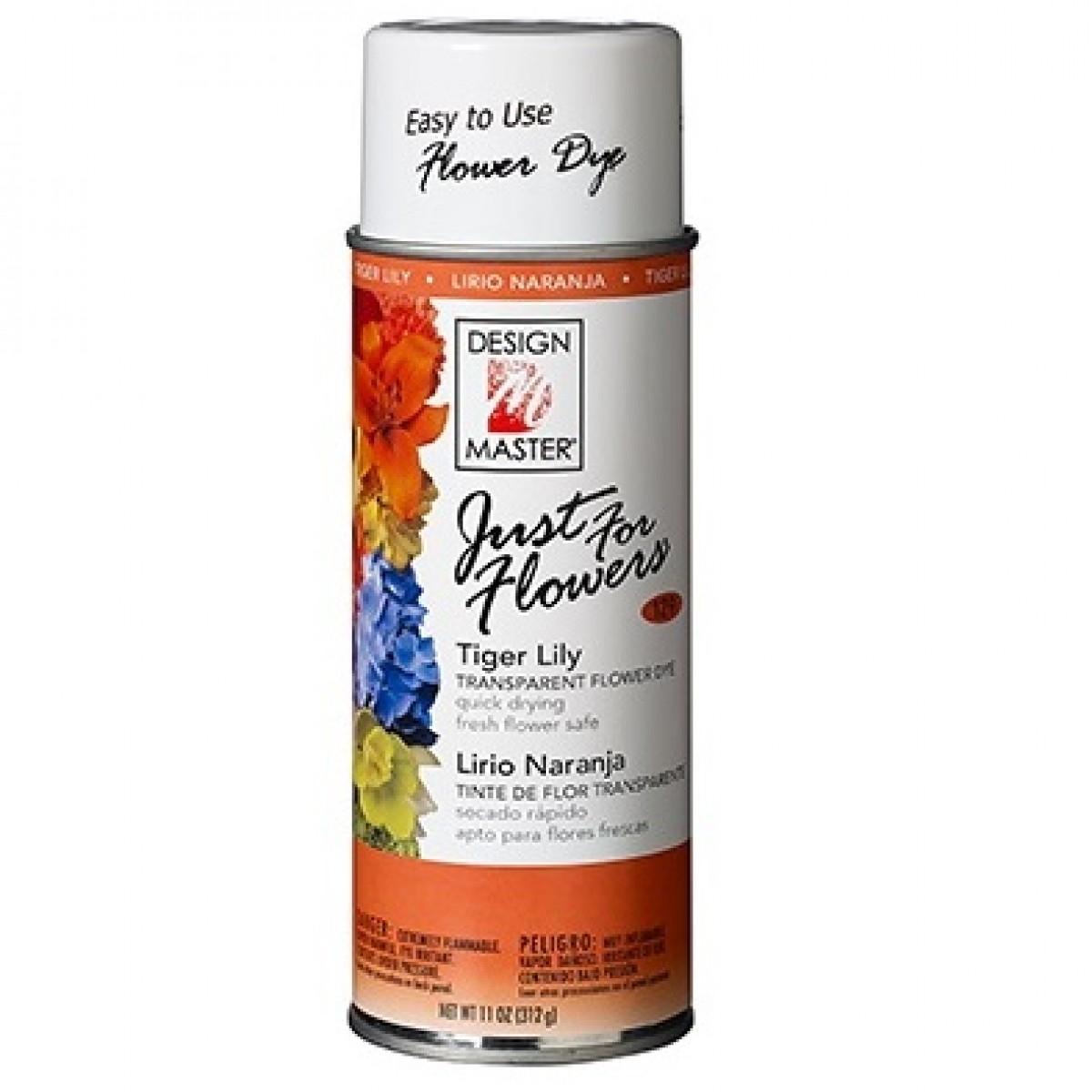 129 Tiger Lily DM Colour Spray Paint - 1 No