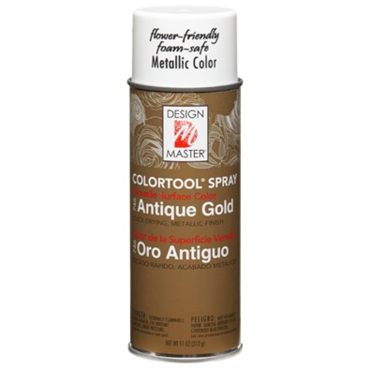 746 Antique Gold DM Metallic Colour Spray Paint - 1 No
