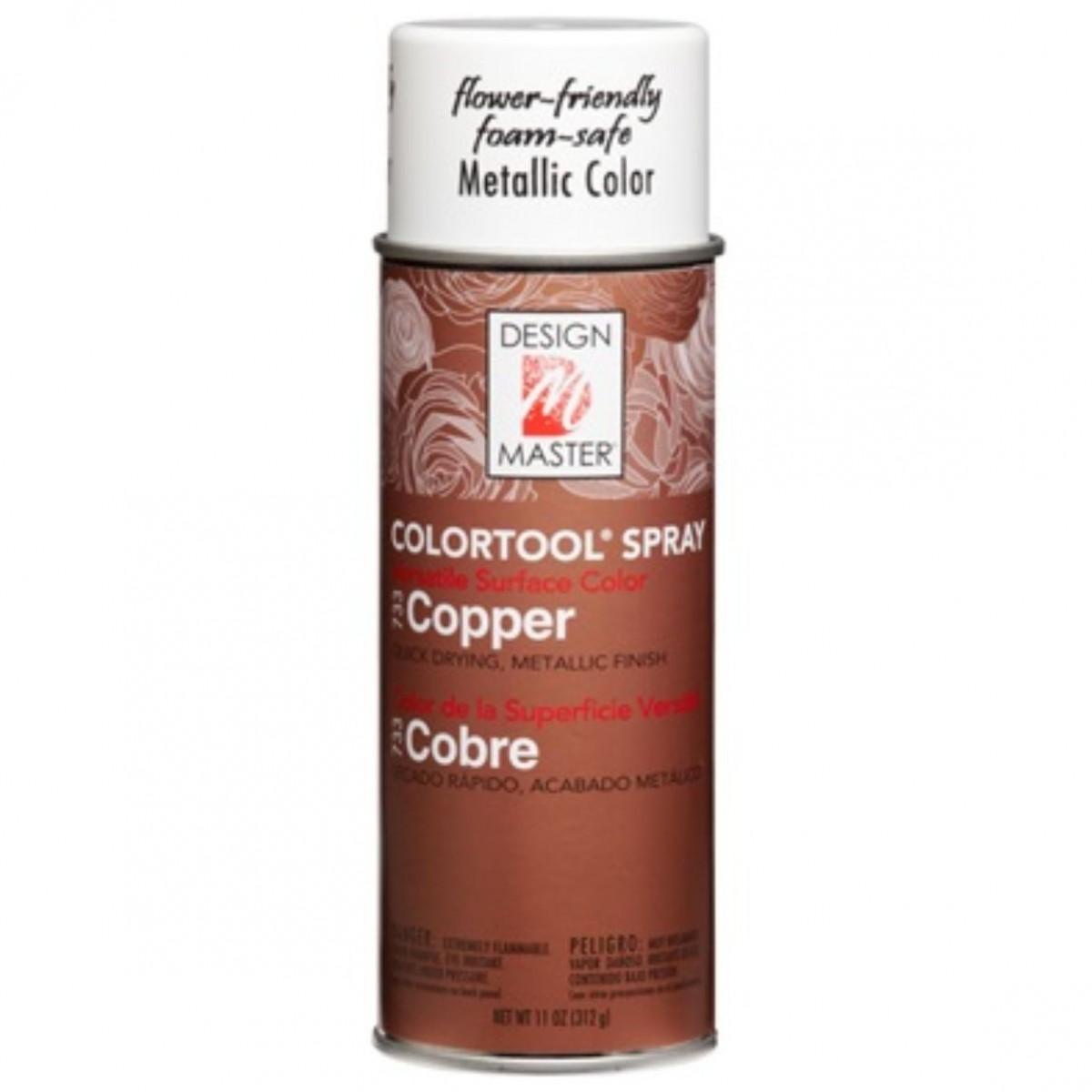 733 Copper DM Metallic Colour Spray Paint - 1 No