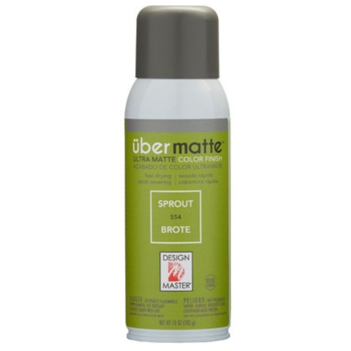 554 Sprout DM Ubermatt Colour Spray Paint - 1 No