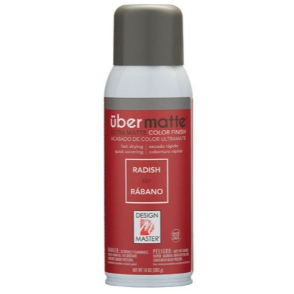 551 Radish DM Ubermatt Colour Spray Paint - 1 No