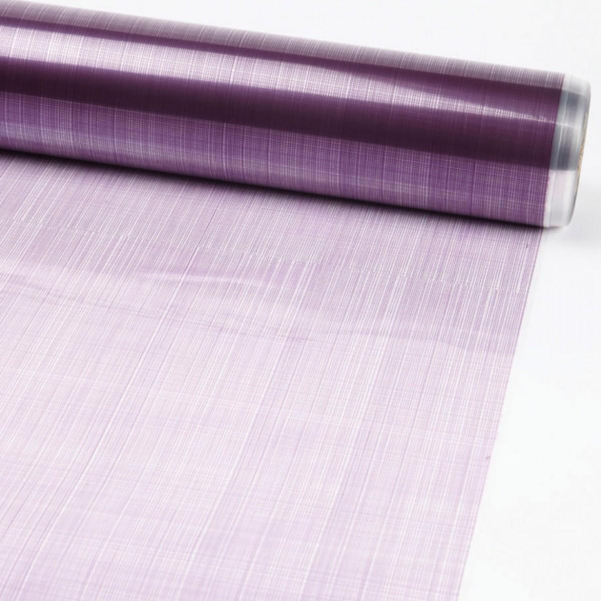 Hessian Purple 80cmx25m 50mic Film - 1 Roll