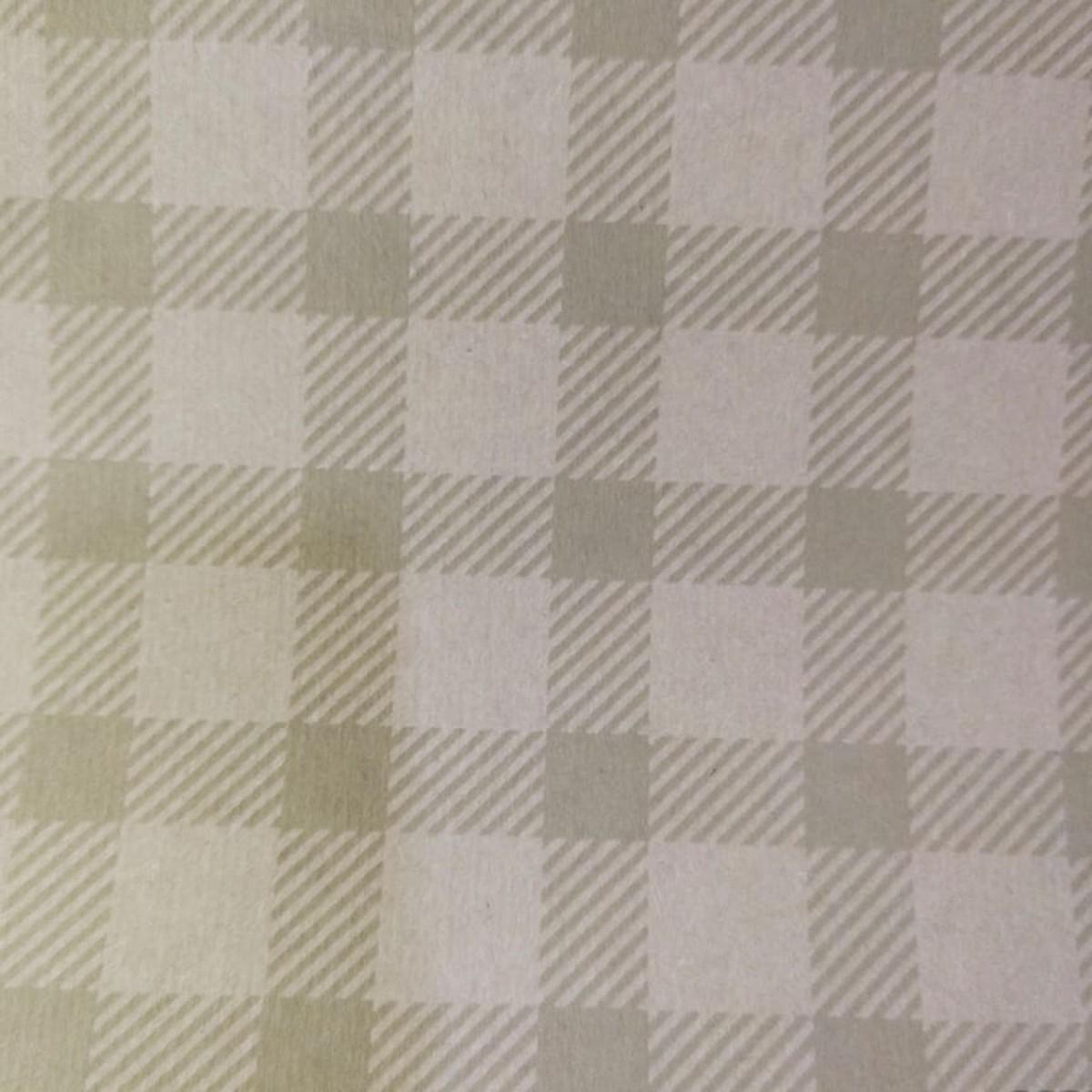 7204 Chex Print Gold 50cmx25m Kraft Paper - 1 Roll