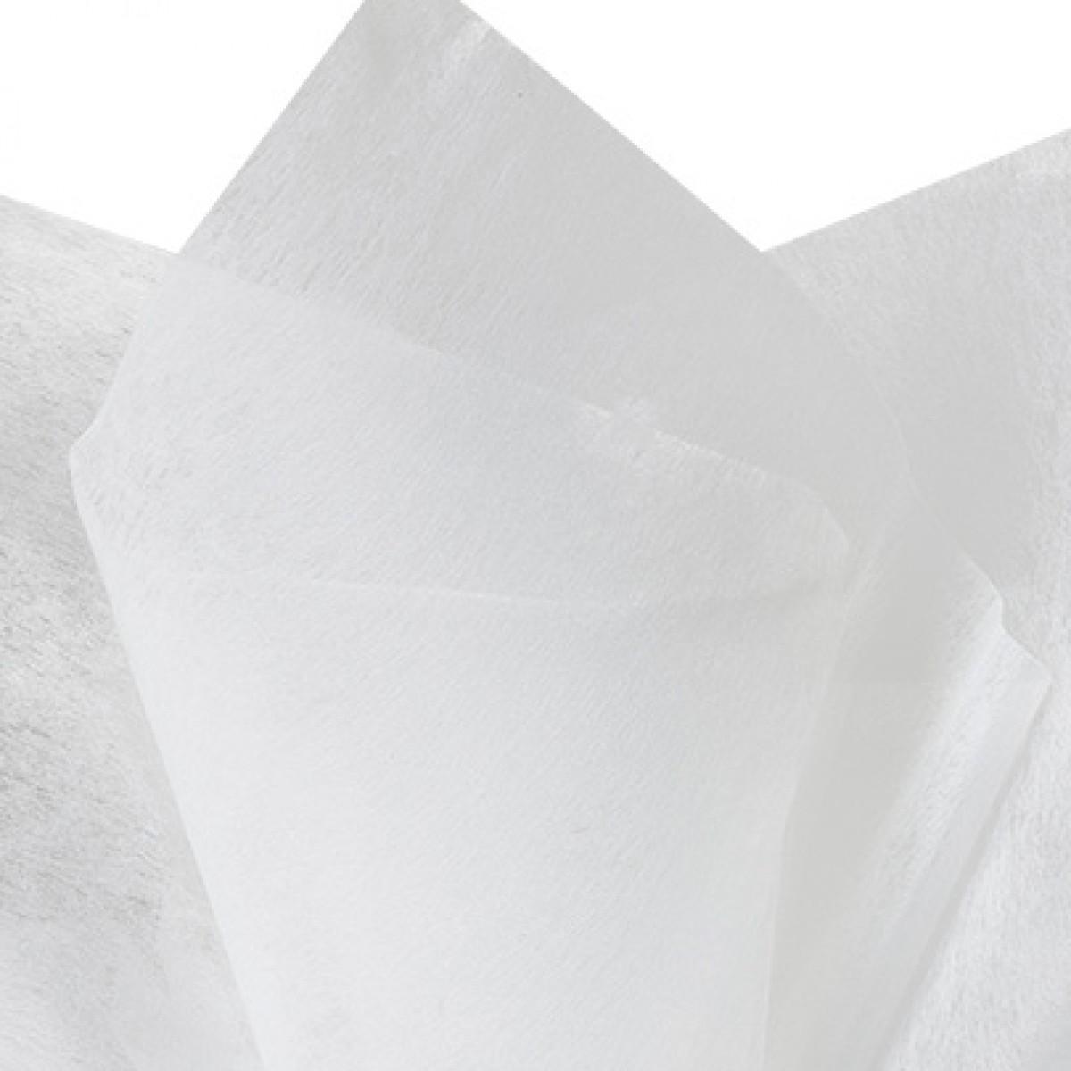 Ivory 75cmx60cm Tissue Floral Wraps - 50 Sheets