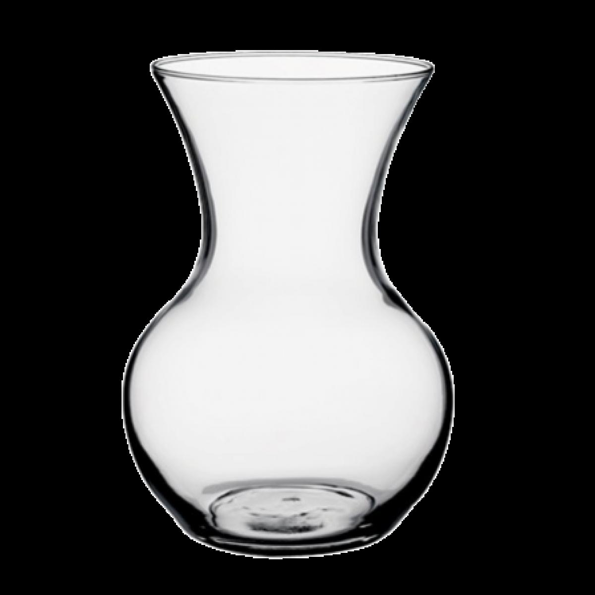 Sweetheart Clear 11x18cm Acrylic Vase - 1 No