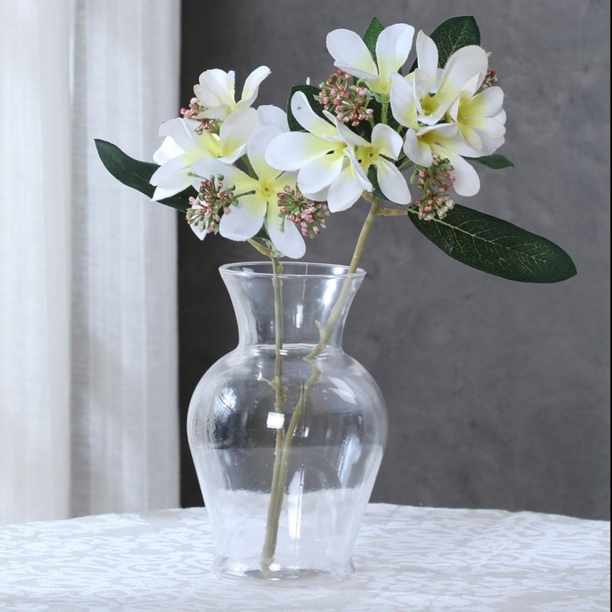 5106 Classic Urn Clear 8.5x18cm Acrylic Vase - 1 No