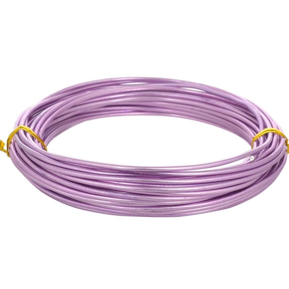 Aluminium Wire Purple 12guage 250mtr 5 Nos