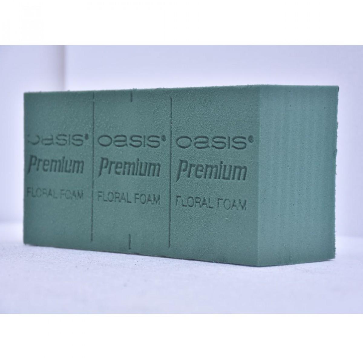 Premium Brick (4 Nos) Oasis Floral Foam