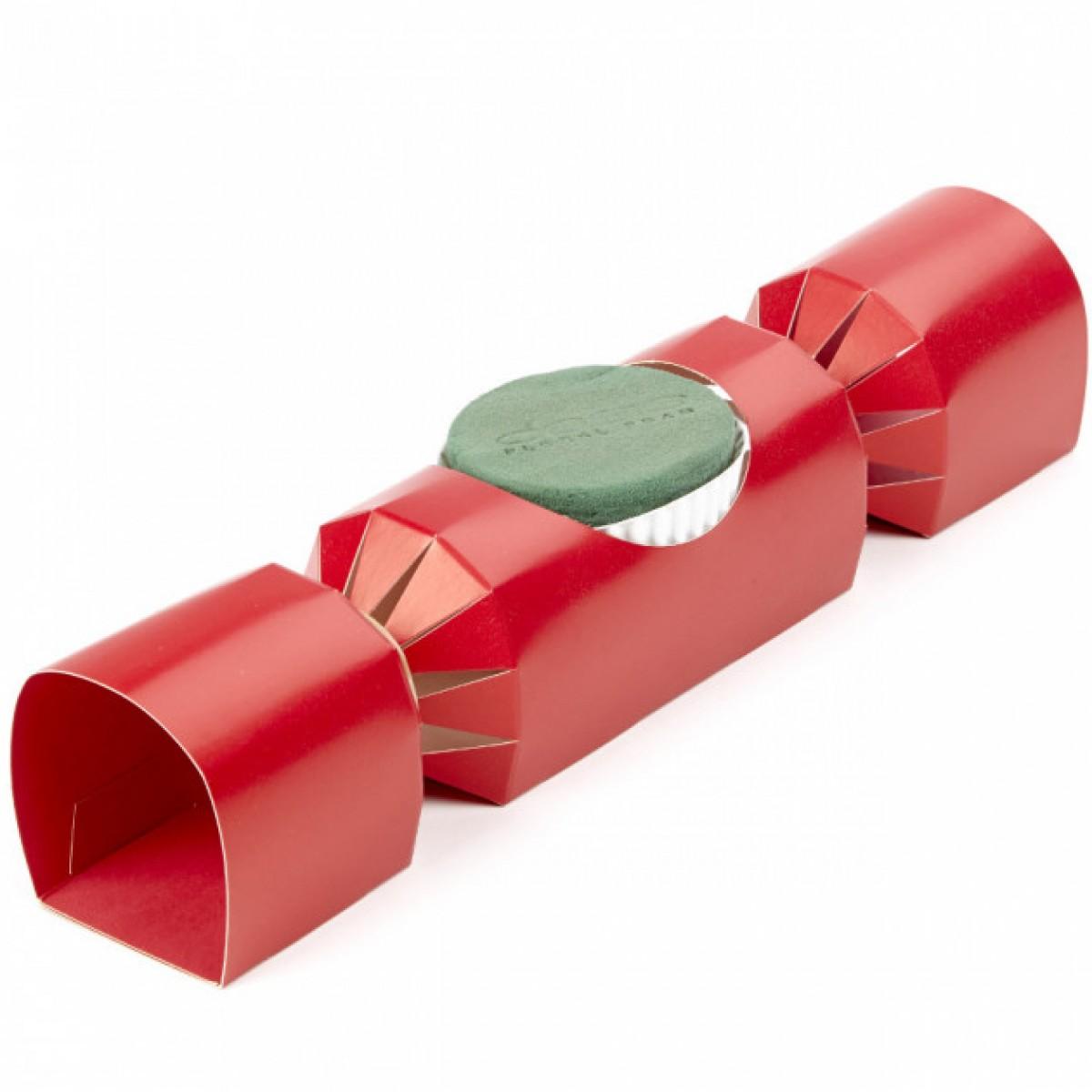 Red Floral Foam Cracker - 1 No