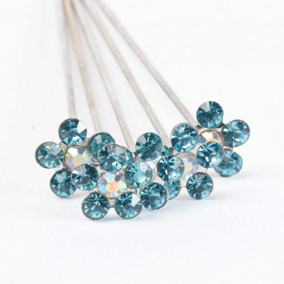 Karas Kisses Pixie Turquoise 10mmx8cm 5 Pins
