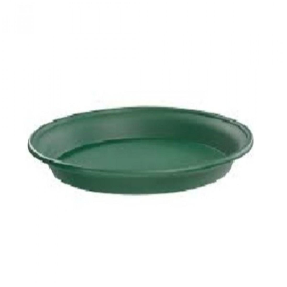 26CM Plastic Tray Green - 10 No