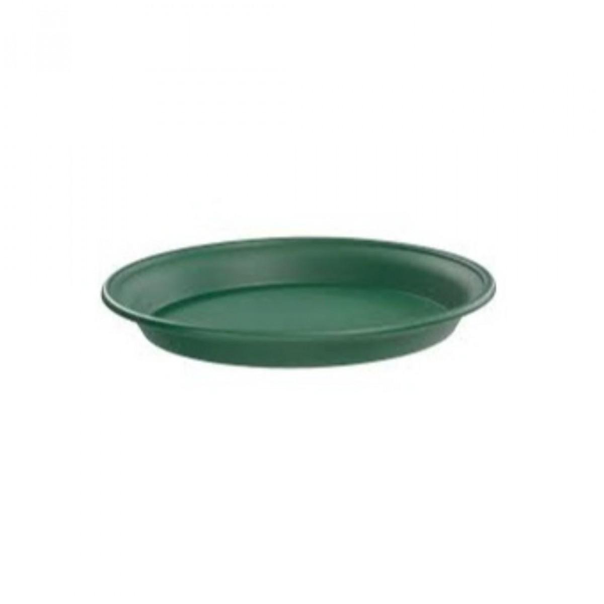 22CM Plastic Tray Green - 10 No