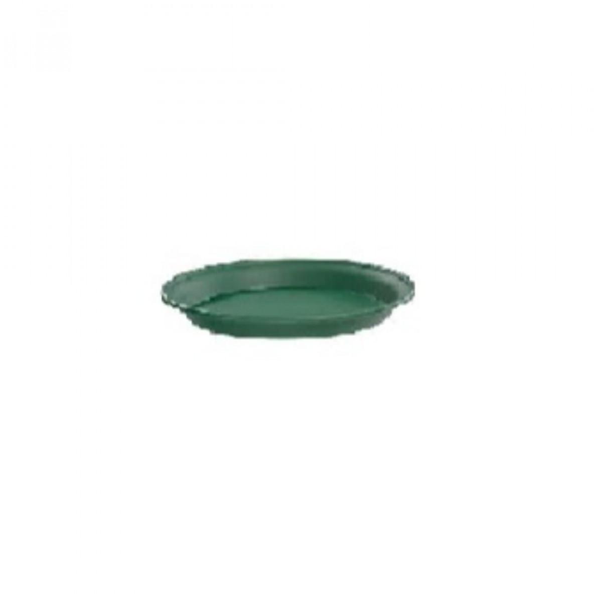 16CM Plastic Tray Green - 10 No