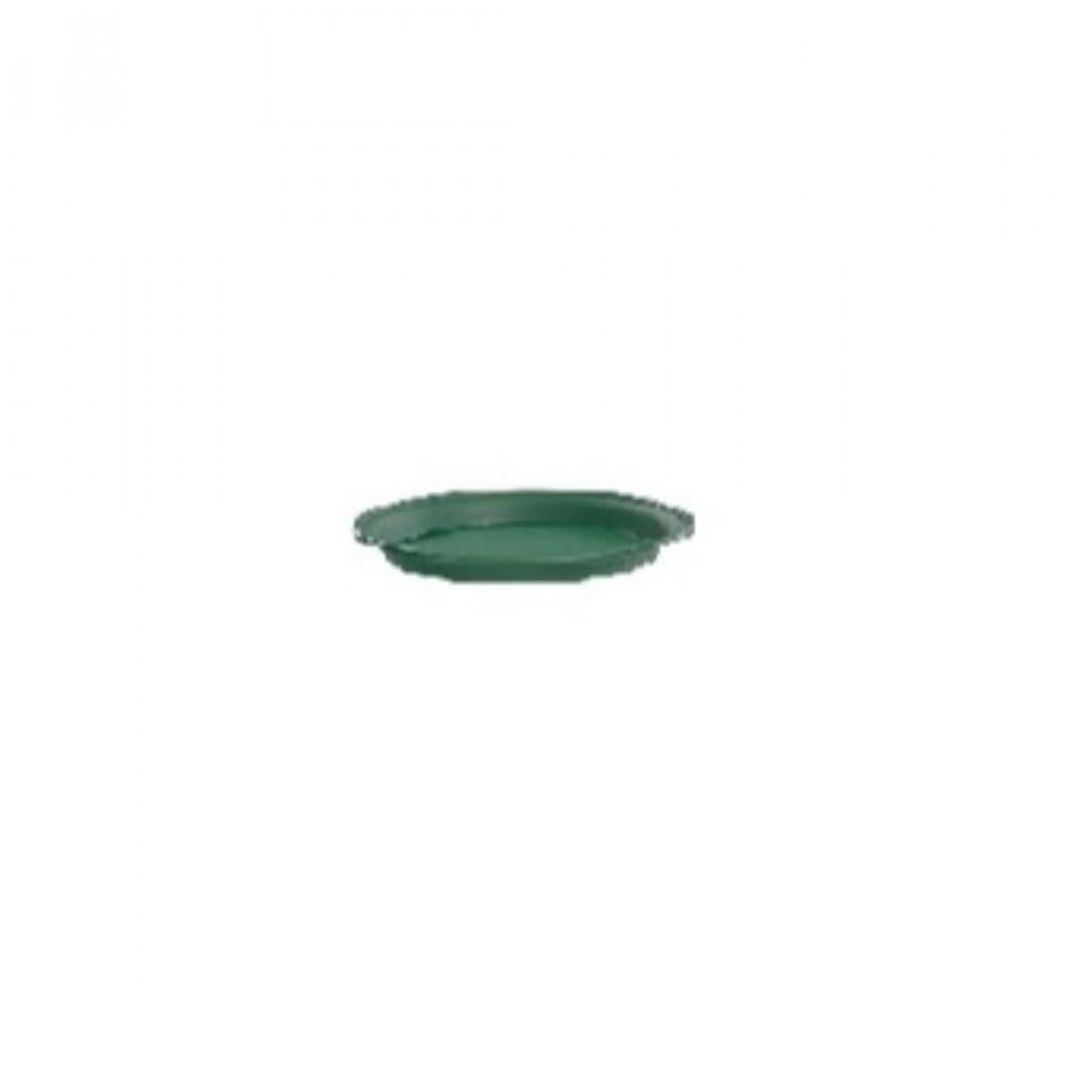 10CM Plastic Tray Green - 10 No