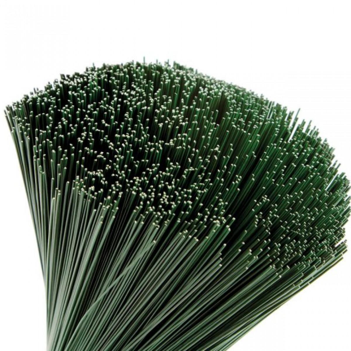 Stub Wire Green 40cmx0.7mm 2.5kgx1