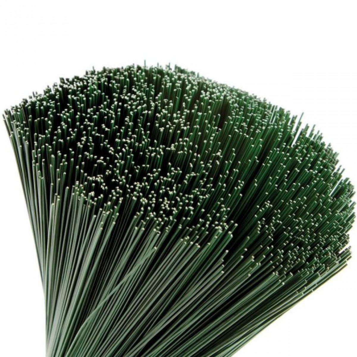 Stub Wire Green 40cmx0.5mm 2.5kgx1