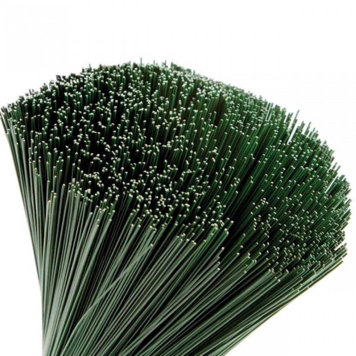 Stub Wire Green 40cmx1.4mm 2.5kgx1