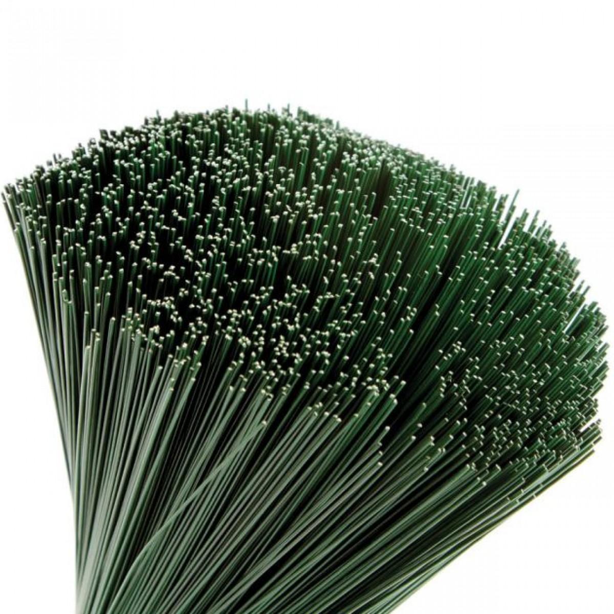 Stub Wire Green 50cmx0.9mm 2.5kgx1