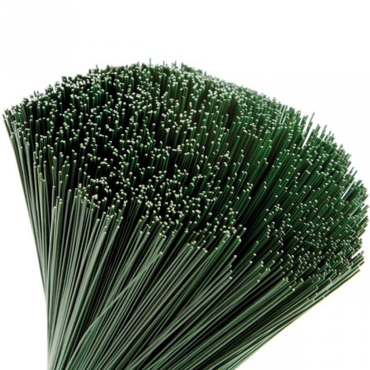 Stub Wire Green 23cmx0.9mm 2.5kgx1