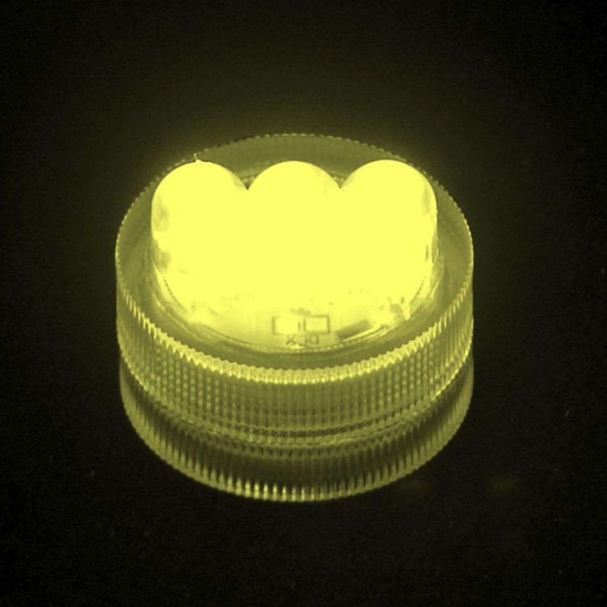 4318 LED Light XL Amber 10x1