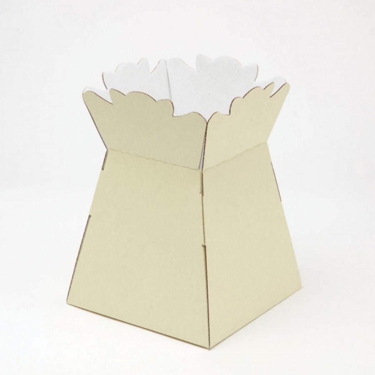 Porto Vase Cream 17x24cm - Pack of 5