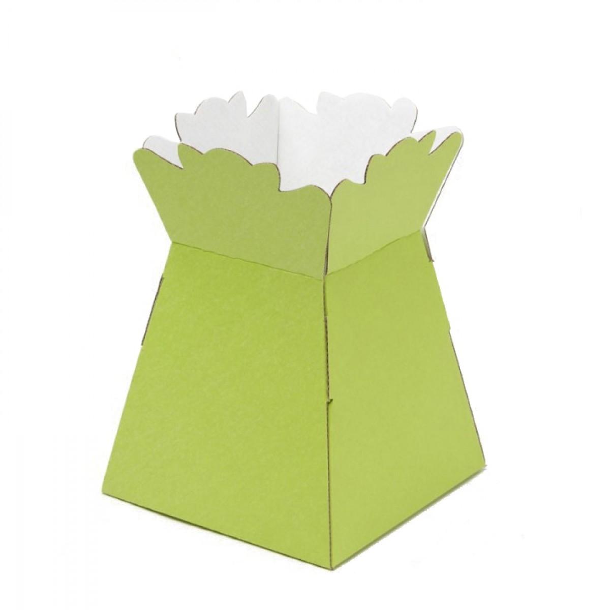 Porto Vase Green 17x24cm - Pack Of 5