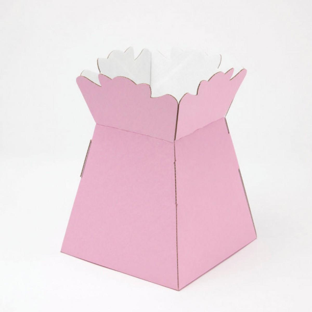 Porto Vase Pink 17x24cm - Pack Of 5