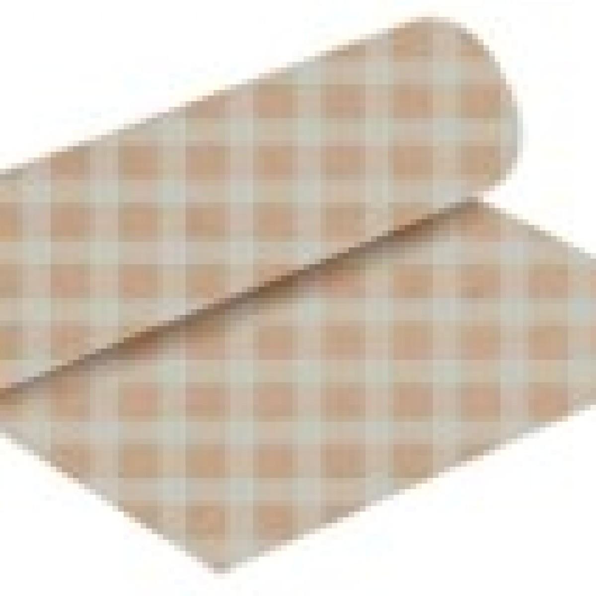 7212 Chex Print Silver 50cmx25m Kraft Paper - 1 Roll