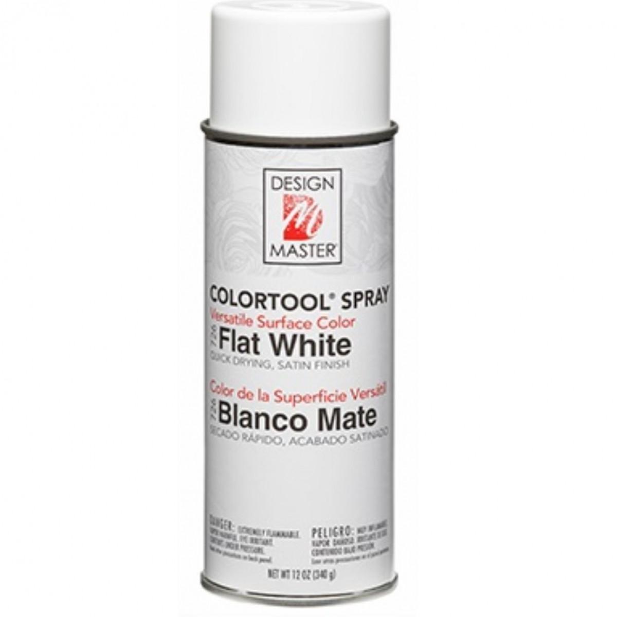 726 Flat White DM Colour Spray Paint - 1 No