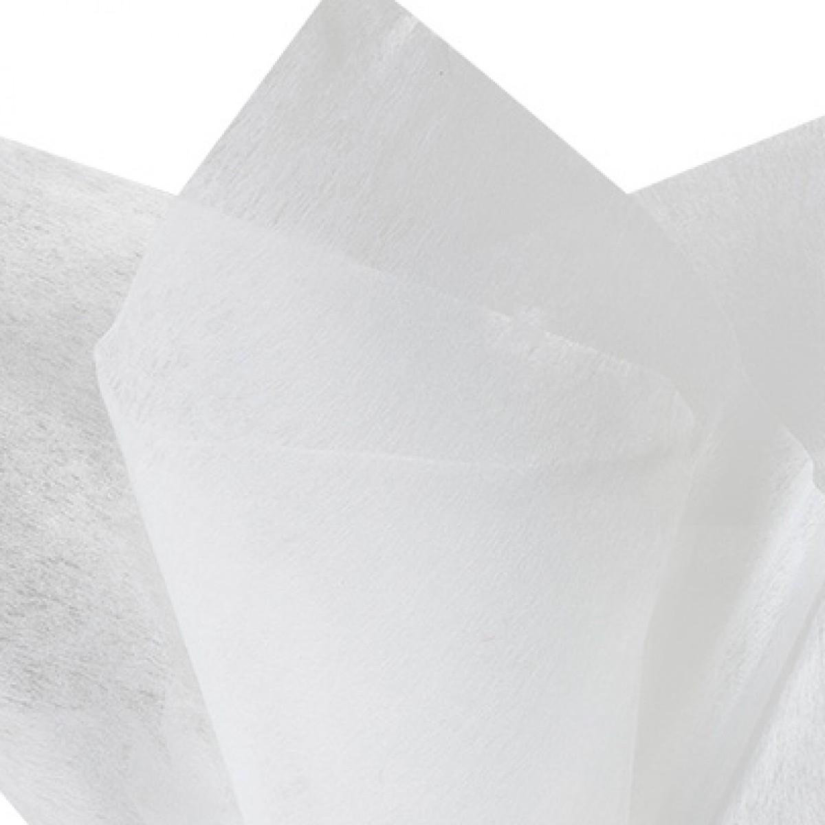 7512 Ivory 75cmx60cm Tissue Floral Wraps - 100 Sheets