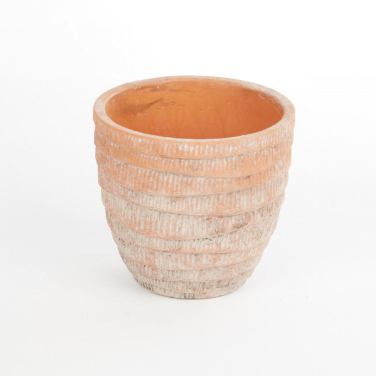Ceramic Bahia Pot 12cmX12cmX11cm