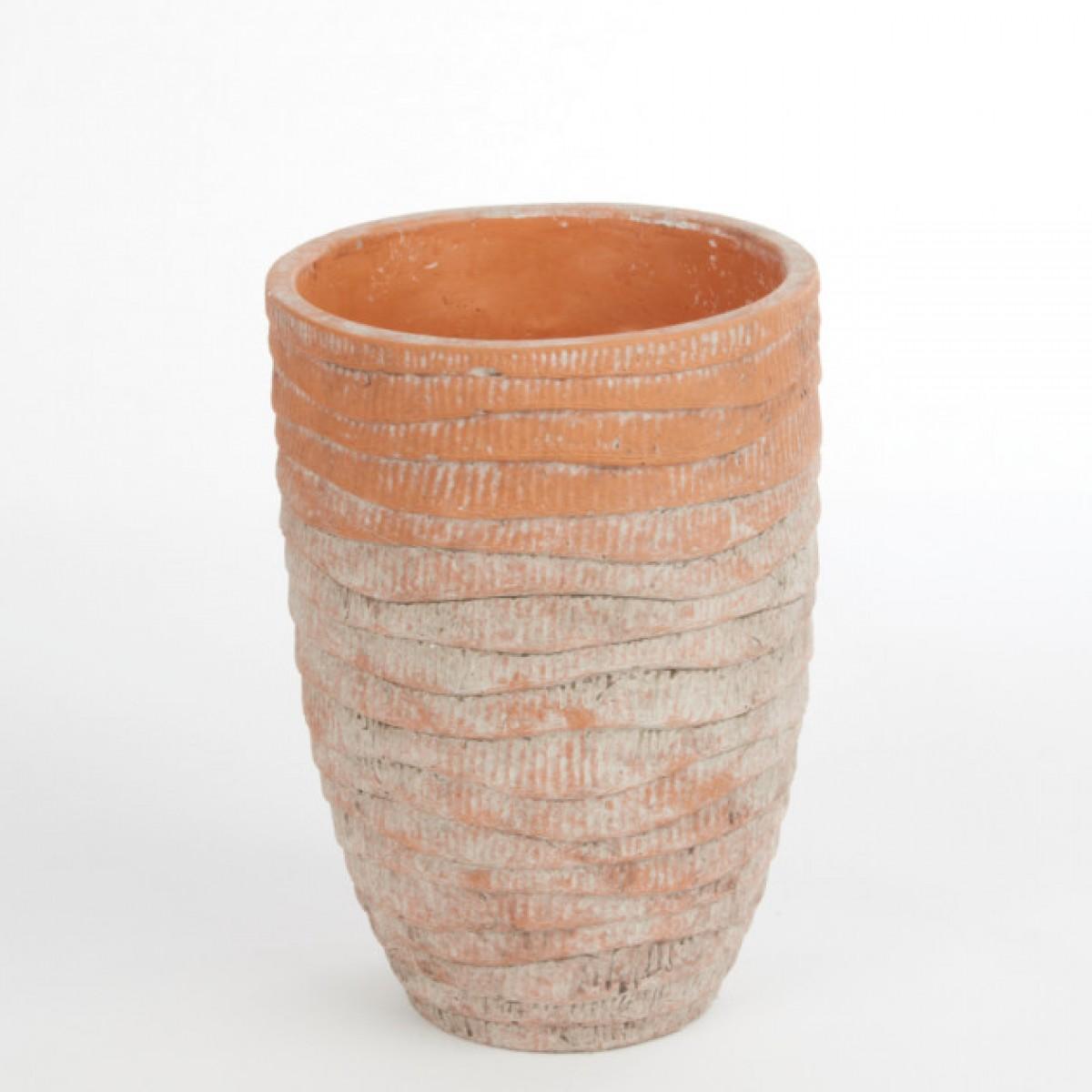 Ceramic Bahia Vase 14cmX14cmX20cm